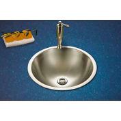 Houzer CVT-1645-1 Topmount Stainless Steel Lavatory Sink, Mirror Finish