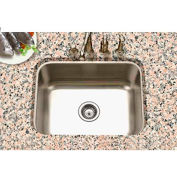 Houzer PNG-2300-1 Undermount Stainless Steel Single Bowl Kitchen Sink