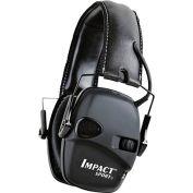 Howard Leight™ 1030942 Impact® Sport Folding Electronic Earmuff, Black, NRR 22 dB