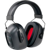 Honeywell VeriShield™ 1035108-VS 100 Passive Earmuffs, Over The Head, Black, NRR 30