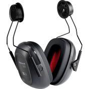 Honeywell Verishield™ Hard Hat Mounted Ear Muff, 21 dB, Black/Yellow