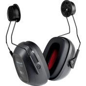 Honeywell Verishield™ Hard Hat Mounted Ear Muff, 24 dB, Black/Yellow
