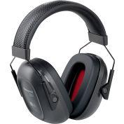 Honeywell Verishield™ Over-The-Head Ear Muff, Dielectric, 23 dB, Black