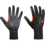 Honeywell Coreshield™ 18 Gauge Nylon Black Liner Gloves, Nitrile Micro-Foam Coating, Size 8M