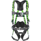 Miller® AirCore™ Harness With Steel Hardware Quick-Connect Buckle Universal AC-QC-BDP/UGN