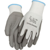 Honeywell WorkEasy® Cut-Resistant  HPPE Fiber Glove, Gray Shell & PU Palm, Small