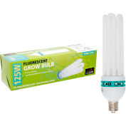 Hydrofarm FLB125C Compact Fluorescent Grow Light, 125W, 7000 Lumens, 10000 Hours, 6500K - Daylight