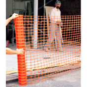ComfitWear® Polyethylene Safety Fence, 4' x 100', Orange