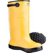 ComfitWear® Slush Boots, Size 12, Rubber, Yellow, 1-Pair - Pkg Qty 6