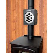 "Magic Heat 6"" Bottom Crimp Heat Reclaimer Wood Applications - MH-6R"