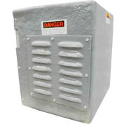 """Hartzell Weather Cover For Belt Drive Vaneaxial Fan-S54G, 48"""", S54-G-WEATHER COVER-48"""