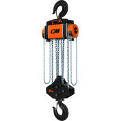 CM Hurricane 360° Hand Chain Hoist 15 Ton Capacity, 20' Lift