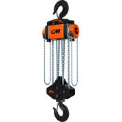 CM Hurricane 360° Hand Chain Hoist 20 Ton Capacity, 20' Lift