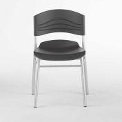 Iceberg Café Chair - Black - Pack of 2 - CaféWorks™ Series