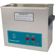 Ultrasonic Table Top Part Cleaning System - Digital Timer/Heat, 1.5 Gal, 45 kHz, 115V