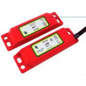 IDEM 110015 LPR Magnetic Non Contact Switch, 10M, 2NC 1NO - Pkg Qty 2