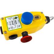 IDEM 143063B GLM Rope Pull Switch W/LED, 3NC 1NO, 110/120v ac., Die Cast