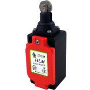 IDEM 174065 HLM Limit Switch HLM-Roller Plunger EX, 2NC 2NO, Die Cast
