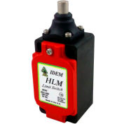 IDEM 174102 HLM Limit Switch-Pin Plunger, 2NC 2NO, 1/2NPT