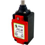 IDEM 174102 HLM Limit Switch-Pin Plunger, 2NC 2NO, 1/2NPT