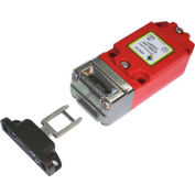 IDEM 203008HF-SS KM Tongue Interlock Switch-HF Act, 3NC 1NO, 1/2NPT, SSHead