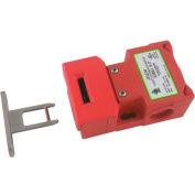 IDEM 207003HF K-15 Tongue Interlock Switch-HF Act, 6Way, 2NC 1NO, PE
