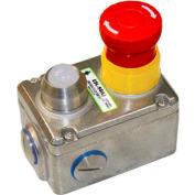 IDEM 232020B ESL-SS(L) E-Stop Switch W/LED, 3NC 1NO, 110v, SS