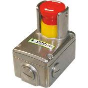"IDEM 232101 ESL-SS(P) Replacement Lid W/Shroud & Padlock Holes, 8""L x 6""W x 4""H, SS"