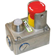 "IDEM 232103-B ESL-SS(LP) Replacement Lid W/Shroud/LED, 110v, 8""L x 6""W x 4""H, SS"