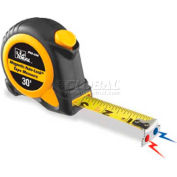 Ideal® Mag-Tape™ Automatic Blade Lock Measuring Tape W/Magnetic Tip, 30'
