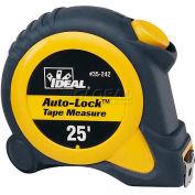 Ideal® Auto-Lock™ Automatic Blade Lock Measuring Tape, 25'
