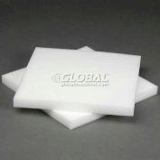 """White Foam Pad, 12""""W X 12""""L X 1""""D - Pkg Qty 48"""