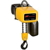 Ingersoll Rand ELK Electric Chain Hoist w/ Chain Container 115V, 1-PHASE, 500 lb Capacity, 10' Lift