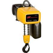 Ingersoll Rand ELK Electric Chain Hoist w/ Chain Container 115V, 1-PHASE, 2000 lb Capacity, 10' Lift