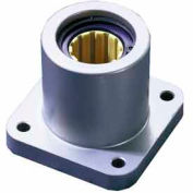 "DryLin® R Straight Bearings FJUI-11-16 1"" Polymer Linear 4 Bolt Flange Bearing"