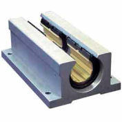 "IGUS OJUI-11-12TW DryLin R Open Twin Pillow Block Polymer Bearing with shell - 3/4""Dia. Shaft"
