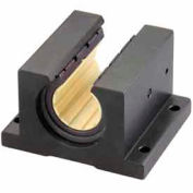 "IGUS OJUI-11-32 DryLin R Open Pillow Block Polymer Bearing with shell - 2""Dia. Shaft"
