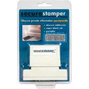 """Xstamper® Secure Stamper, 15/16"""" x 2-13/16"""", Black"""