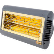 Solaira SALPHA15120S Infrared Heater 1.5KW 120V Silver/Grey