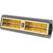 Solaira SALPHA-30240S Infrared Heater 3.0KW 208-240V Silver/Grey