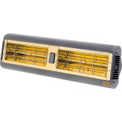 Solaira SALPHA-40240S Infrared Heater 4.0KW 208-240V Silver/Grey