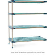"MetroMax 4 4-Tier Add-On Unit - 42""W x 21""D x 63""H"