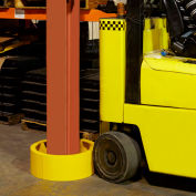 Ideal Warehouse Column Guard, Safety Yellow, 60-5720