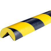 "Knuffi® Magnetic Corner Bumper Guard, A, 39""L x 2""W, Black/Yellow, 60-6910"