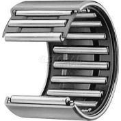 "IKO Shell Type Needle Roller Bearing INCH, 9/16 Bore, 3/4 OD, .438"" Width"
