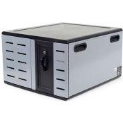Ergotron® Zip12 Charging Desktop Cabinet for 12 Devices, Black/Silver