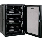 Tripp Lite 48-Device USB Charging Station Cabinet with Sync for iPad and Android Tablets, Black