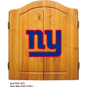 New York Giants Dart Cabinet