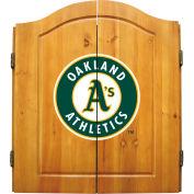Oakland Athletics Complete Dart Cabinet