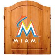 Florida Marlins Complete Dart Cabinet